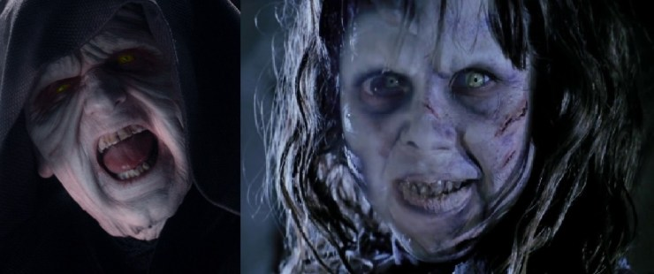 Palpatine (Star Wars) and Regan (The Exorcist) - Do you see the resemblance? 1