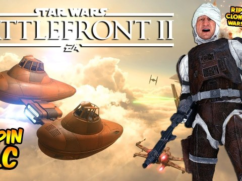 Star Wars Battlefront 2 - Cloud City DLC HUGE LEAK! Clone Wars Season Delayed? (Battlefront II) 6