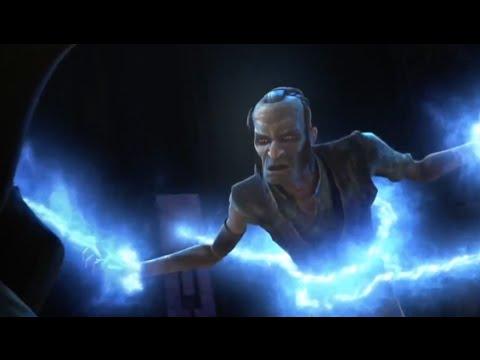 Yoda Speaks to Jedi Sifo-Dyas (Darth Sidious) on Moraband