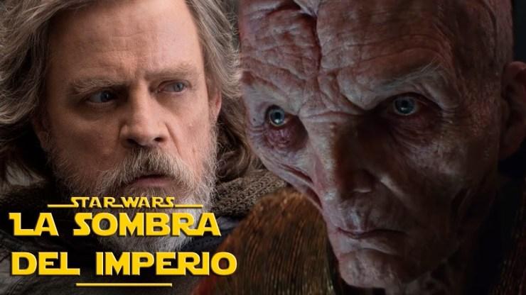 ¿Cómo Luke Skywalker y Snoke Se Conocieron y Qué Significa Esto? Los Ultimos Jedi Novela Star Wars