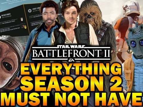 EVERYTHING SEASON 2 MUST NOT HAVE! Star Wars Battlefront 2