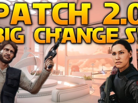 PATCH 2.0 FULL DETAILS: Iden Buff, Bespin, Endor Daytime & MUCH more! - Star Wars Battlefront 2