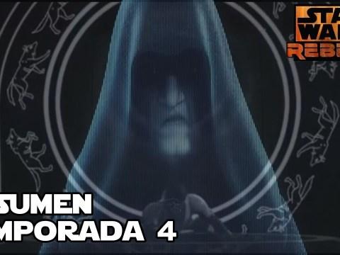 Rebels cambio todo para la fuerza - Star wars Temporada 4 de Rebels