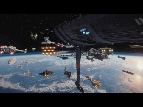 Rogue One: A Star Wars Story - Space Battle of Scarif