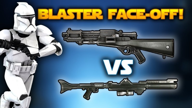 Star Wars Battlefront 2 Blaster Face-Off! - TL-50 vs DC-15LE! Which Blaster is the Best Weapon?