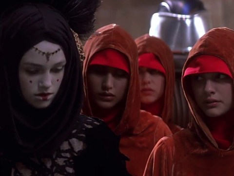 """Star Wars Episode 1 """"The Phantom Menace"""" - The Jedi Rescue The Queen"""