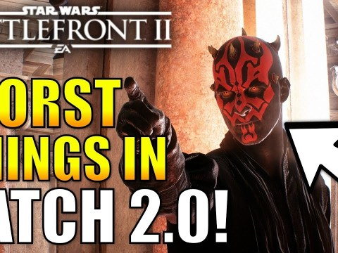 The Biggest Problems With Patch 2.0 In Battlefront 2 - (Darth Maul Glitch, Lag Spikes and More)