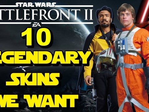 10 LEGENDARY SKINS I Want To See In Star Wars Battlefront 2