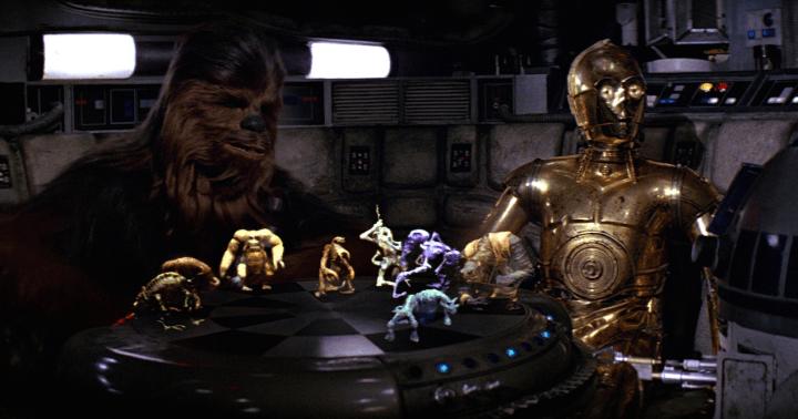 El ajedrez holográfico de Star Wars llega a iOS