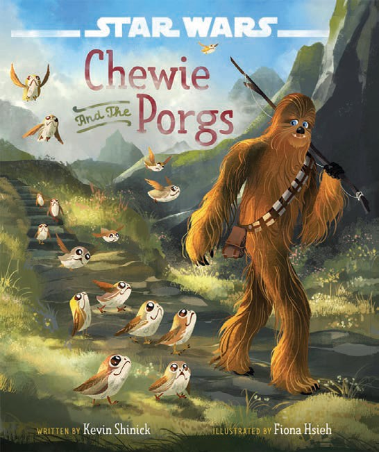 Star Wars: The Last Jedi: Chewie and the Porgs 1