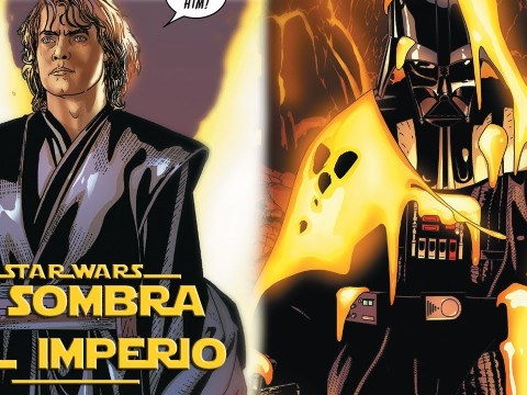 ¿Cómo Darth Vader Mató a Anakin Skywalker en Mustafar? – Star Wars Canon Actual 8