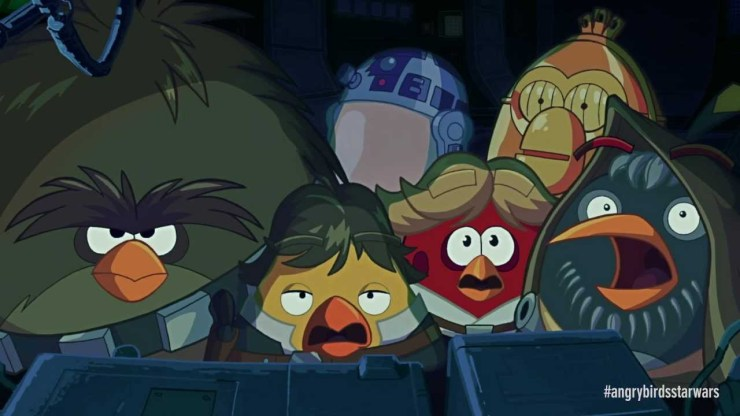 Angry Birds Star Wars Cinematic Trailer 1