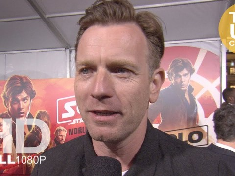 Ewan McGregor interview at Solo: A Star Wars Story premiere 4