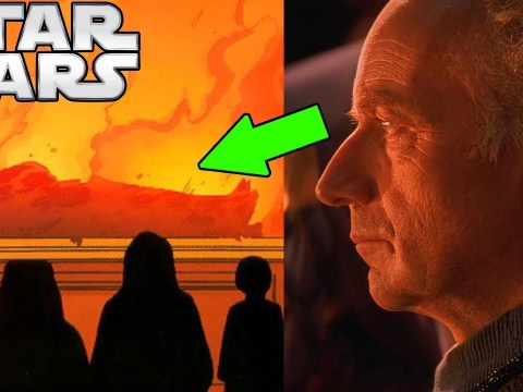 Palpatine's THOUGHTS During Qui-Gon's FUNERAL 5