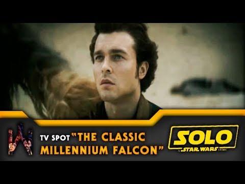 "SOLO: A STAR WARS STORY | Tv Spot ""Han Meets Dryden Vos"""