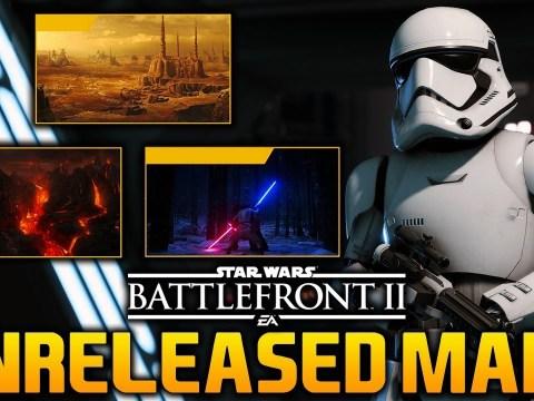 UNRELEASED GAME MODES & MAPS: Star Wars Battlefront 2 4