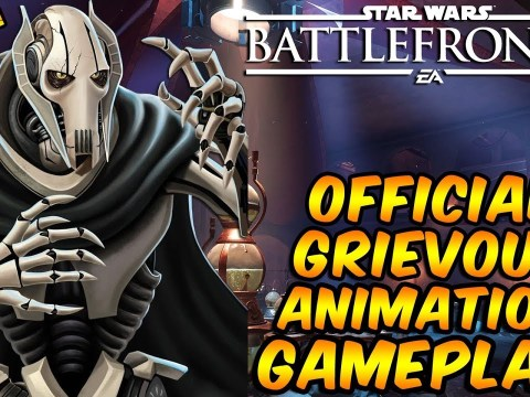 Star Wars Battlefront 2 - OFFICIAL General Grievous Animations (Gameplay)