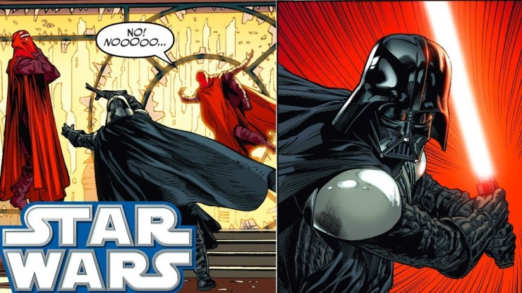 Why Darth Vader KILLED 4 Royal Guards - Star Wars Comics Explained