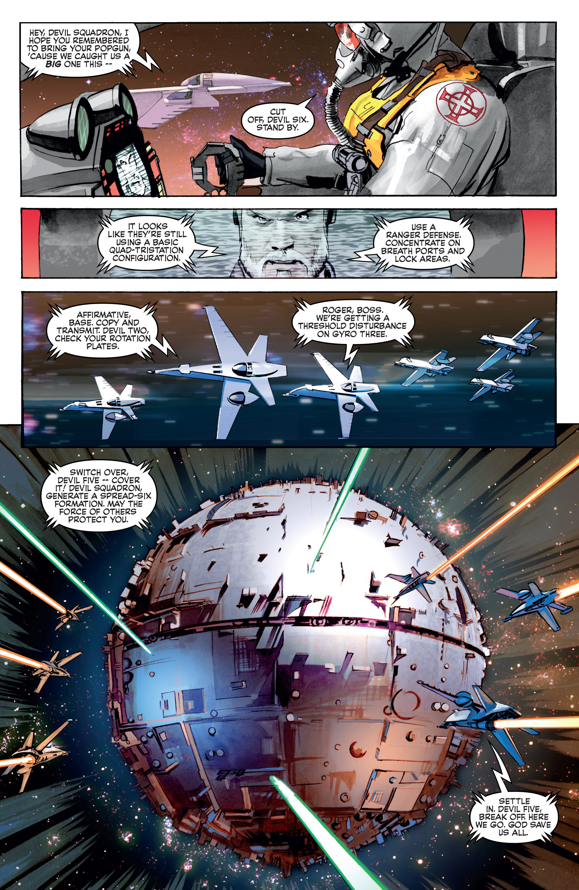 THE STAR WARS comic (2015, Marvel edition) Vol.3