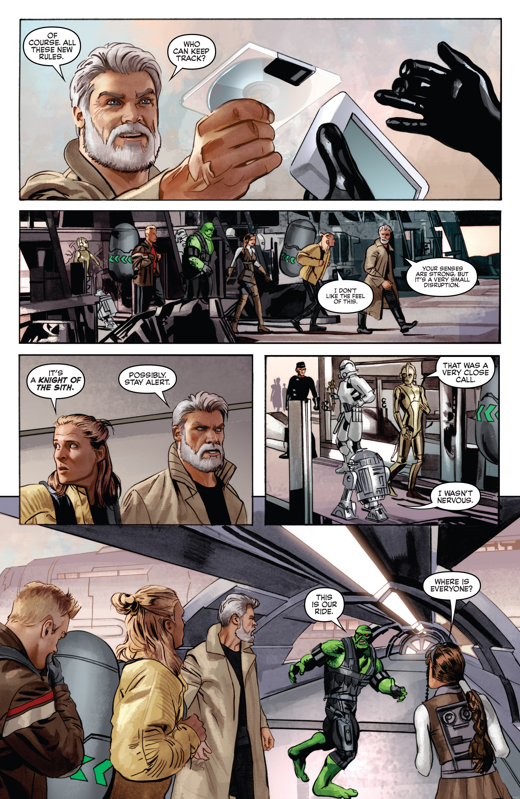 THE STAR WARS comic (2015, Marvel edition) Vol.6