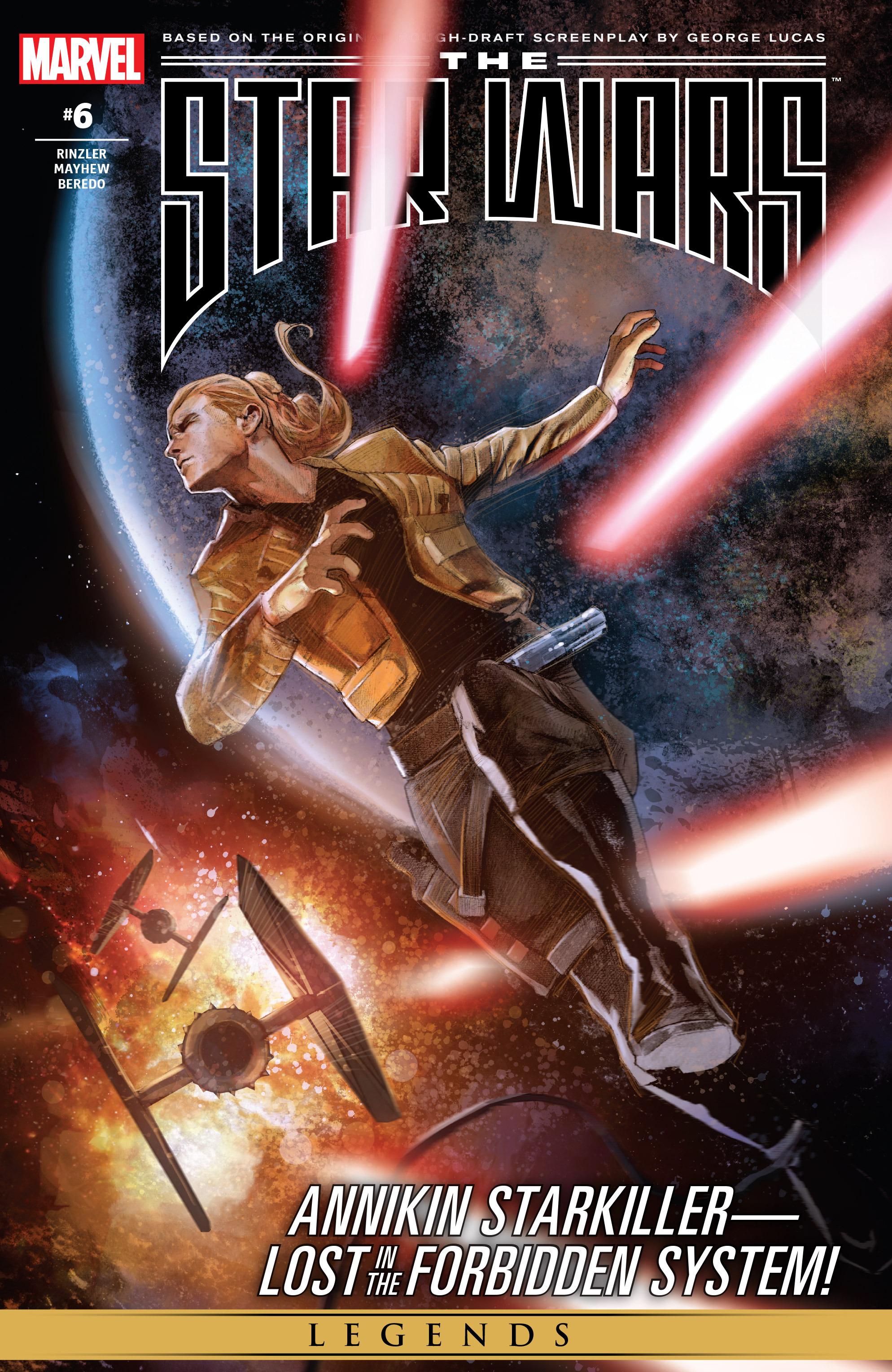THE STAR WARS comic (2015, Marvel edition) Vol.7 1
