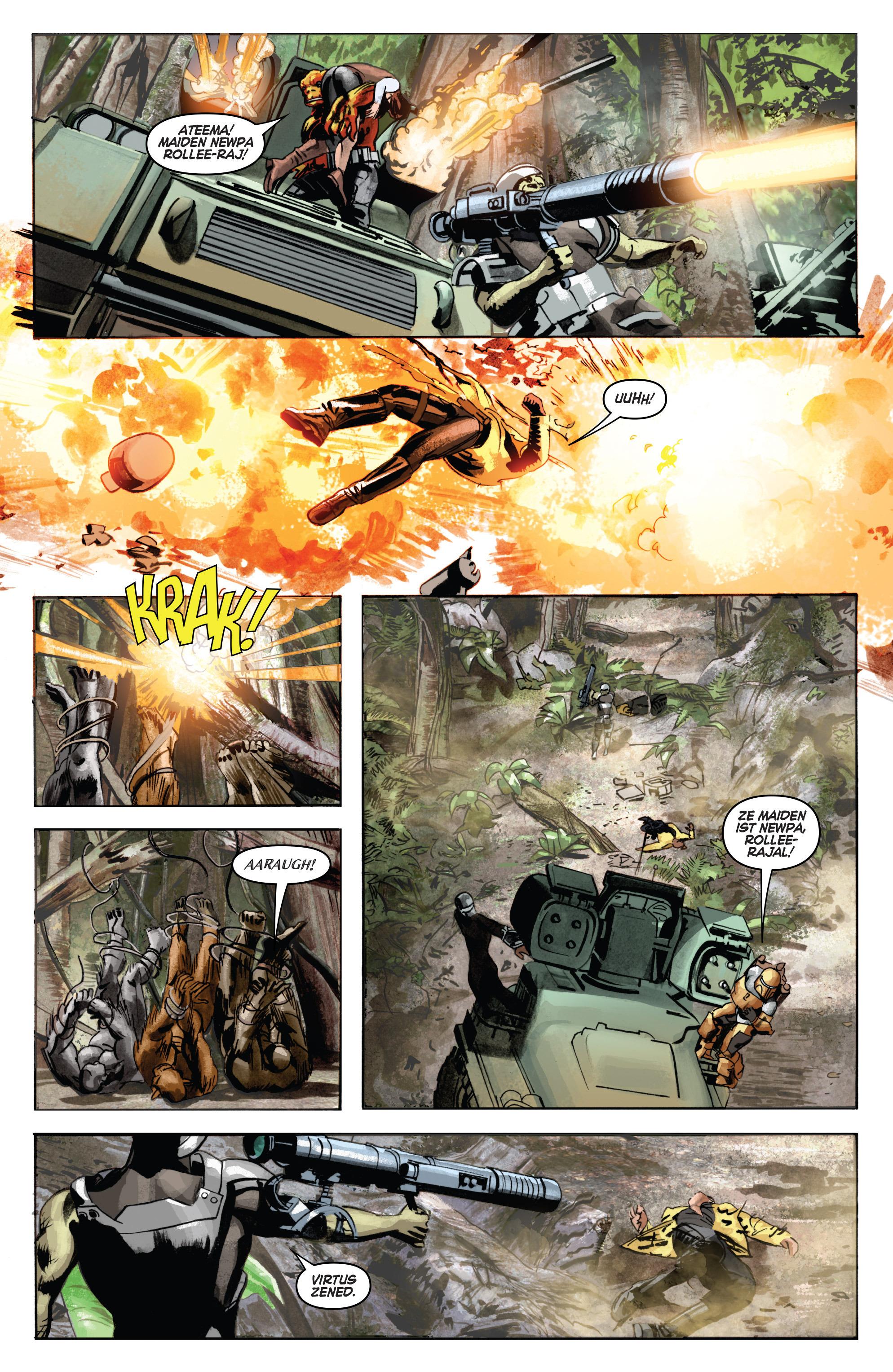 THE STAR WARS comic (2015, Marvel edition) Vol.7 18