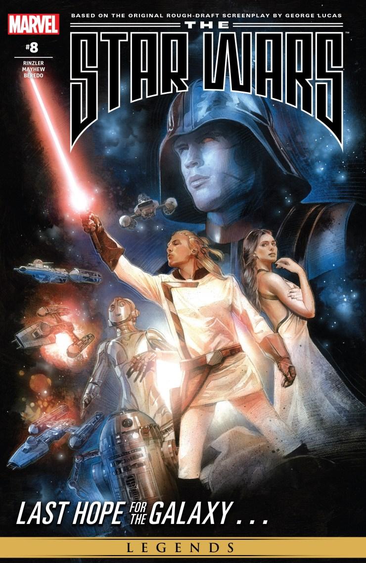 THE STAR WARS comic (2015, Marvel edition) Vol.9