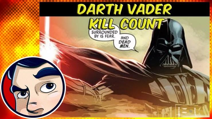 Darth Vader's Kill Count Including Movies, Comics & Novels 1