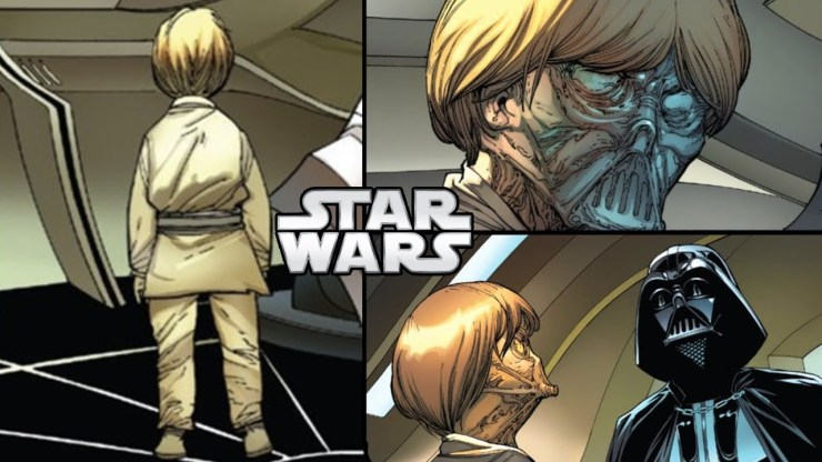 Vader Sees Young Anakin on Padmes Ship...But...(CANON) - Star Wars Theory 1