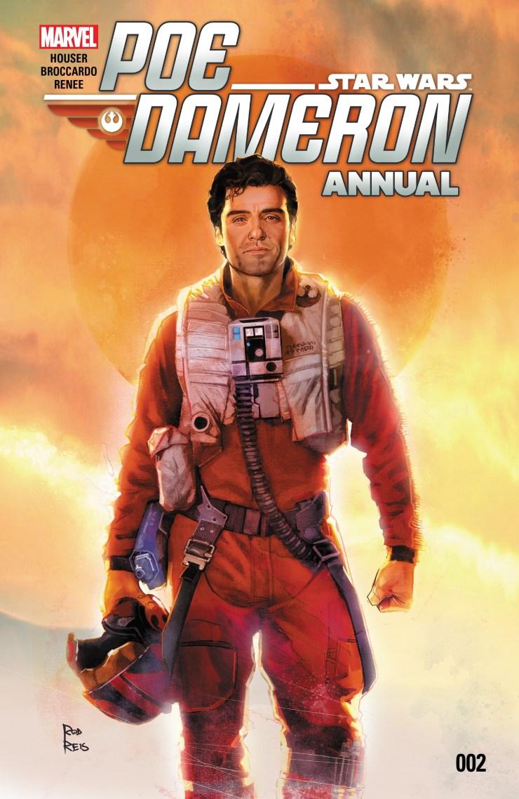 Star Wars - Poe Dameron (2016-) Annual 002 1