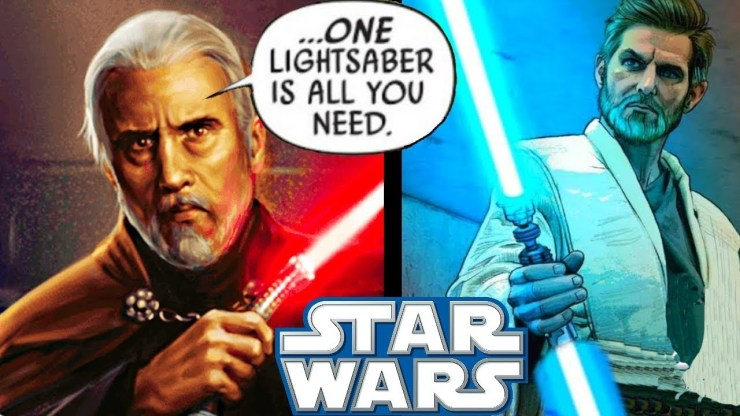 Why Dooku HATED Dual-Bladed Lightsabers!! - Star Wars Explained