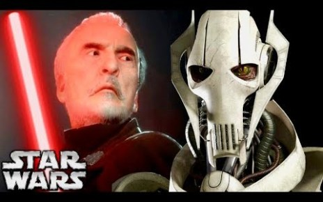 Dooku Admits He Could be DEFEATED by Grievous in Lightsaber Combat!