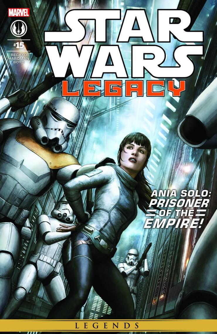 Comic Star Wars: Legacy