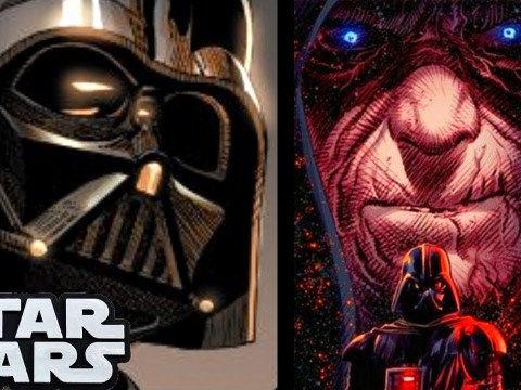 DARTH VADER AFTER SIDIOUS HUMILIATED HIM!(CANON) - SW Comics