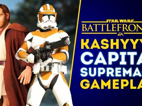 NEW KASHYYYK CAPITAL SUPREMACY GAMEPLAY! - Star Wars Battlefront 2