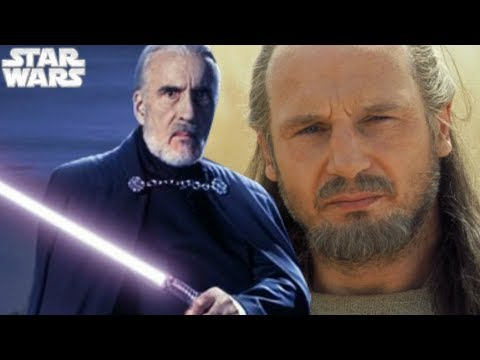 Star Wars CONFIRMS Dooku Turned To The Dark Side Before Qui-Gon's Death 1