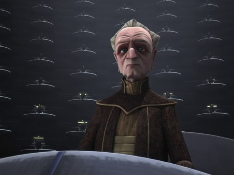 Star Wars The Clone Wars - Palpatine Is Given Control Over The Banks (HD)
