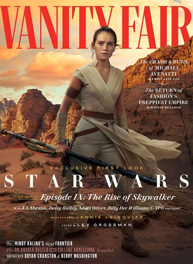 Star Wars Episode IX - The Rise of Skywalker Vanity Fair  new pictures ! 2