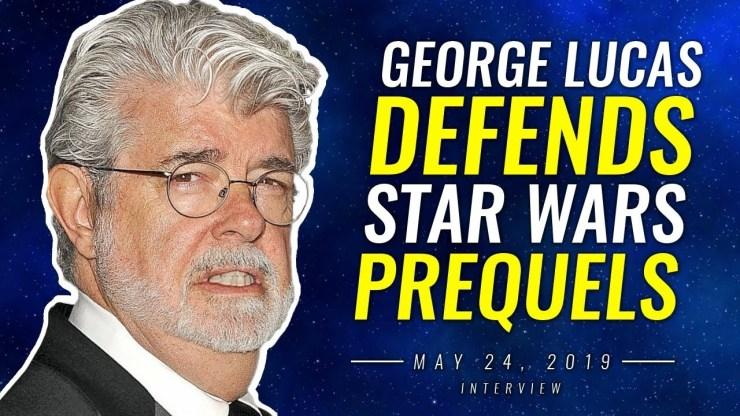 George Lucas Defends Star Wars Prequels - New Interview