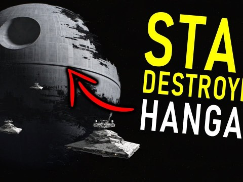 The Death Star's Hidden Feature - it could CARRY STAR DESTROYERS!