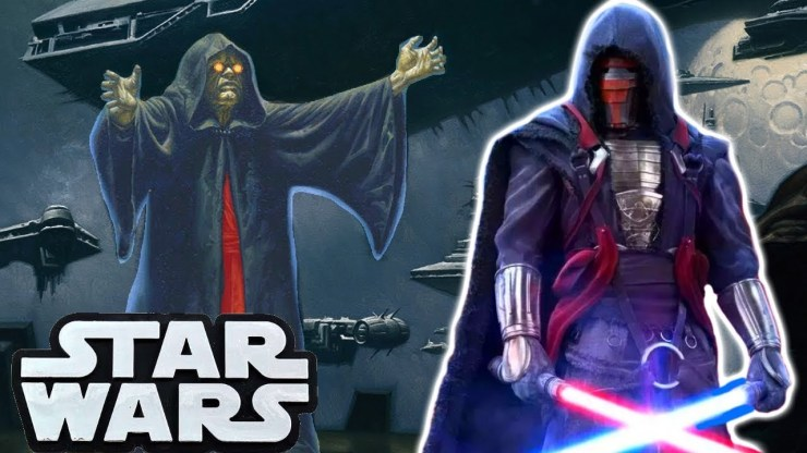 What Darth Sidious Said About Revan Star Wars Explained