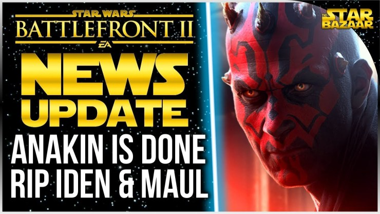 Anakin Is Useless Now, RIP Iden & Darth Maul | Star Wars Battlefront 2 Update 1