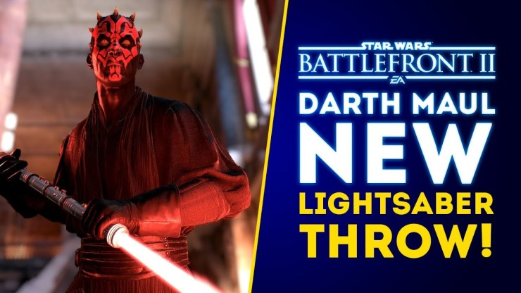Big Changes! Darth Maul's New Lightsaber Throw! More Anakin Nerfs! - Star Wars 1