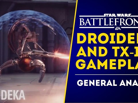 First Droideka Gameplay! TX-130 and Anakin! Star Wars Battlefront 2 June Update! 2