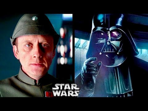 How Admiral Piett Avoided Vader's wrath and Became a LEGEND