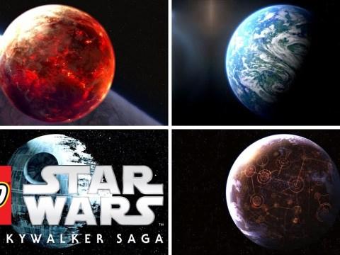 LEGO Star Wars: The Skywalker Saga - HUB Worlds, Lightsaber Combat Detailed!