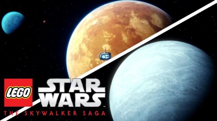 LEGO Star Wars: The Skywalker Saga - New HUB Worlds And More Revealed!
