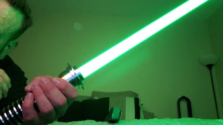 Star Wars Galaxy's Edge Legacy Light Saber Luke's from Return of the Jedi 1