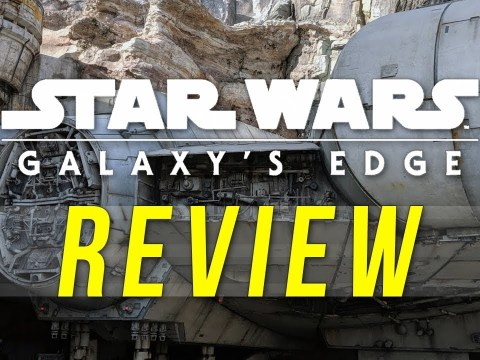Star Wars: Galaxy's Edge REVIEW - Smugglers Run, Blue Milk, and More!