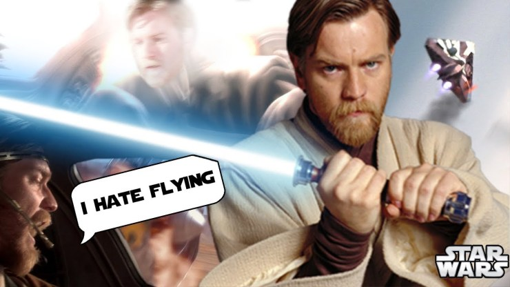 The CANON Horror Story of WHY Obi-Wan Hates Flying REVEALED